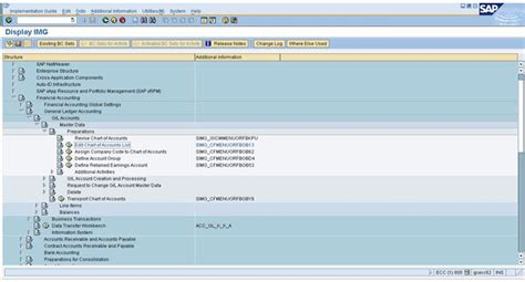 sap chart of accounts table how to create a chart of accounts in sap