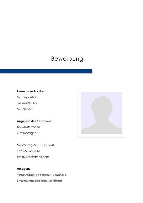 Bewerbung Deckblatt Design Vorlagen Bewerbung Deckblatt Muster Vorlage 9 Lebenslauf Designs