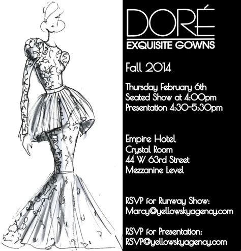Win Tickets To The Fashion Event Of The Year by 5 Lucky S Mafia Members Can Win Tickets To The Dore