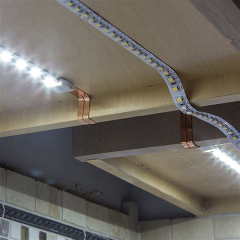 Led Strip Under Cabinet Lighting Diy Cabinets Matttroy Installing Led Lights Cabinet