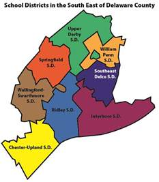 School Districts Delaware School Districts Map