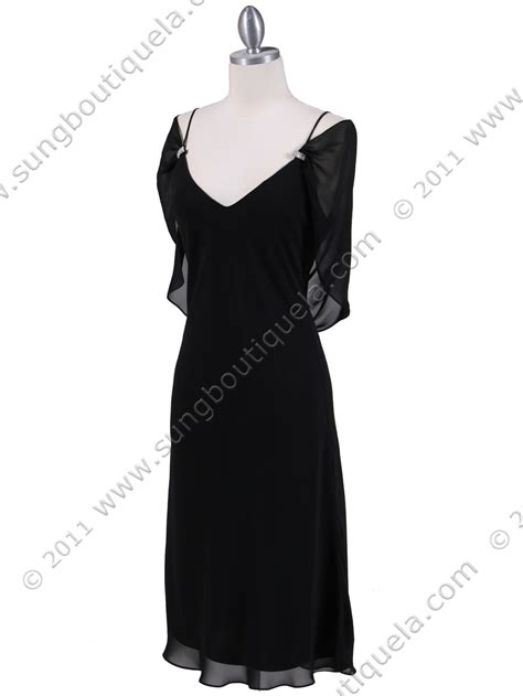 draped evening dress black draped back cocktail dress sung boutique l a