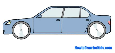 how to a for how to draw a car for howtodrawforkids