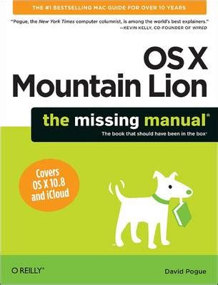Brilliant Os X Mountain Lion By Steve Johnson Waterstones