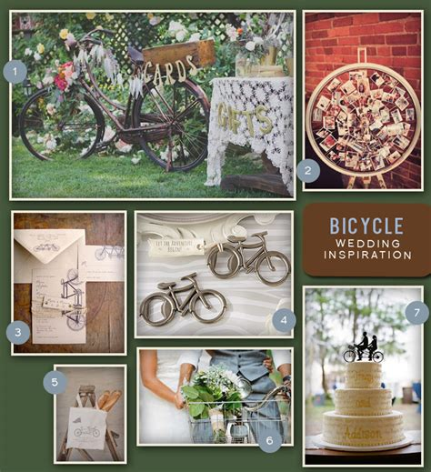 bicycle themed home decor theme thursday a bicycle themed wedding oh what love