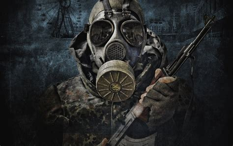 gas mask wallpaper and background 1680x1050 id 313389