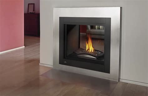 Sided Gas Fireplaces by Napoleon Ascent Bhd4 Series Multi Sided Direct Vent Gas