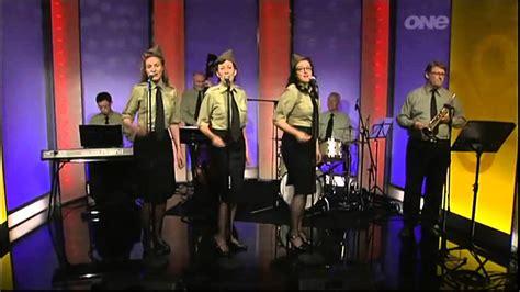 sisters of swing boogie woogie bugle boy sisters of swing youtube