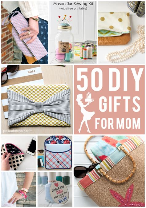Handmade Gifts For Mothers Birthday - 50 diy s day gift ideas on polkadotchair