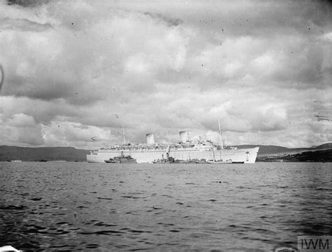 Greenock Records Ss Elizabeth On War Service July 1943 Greenock A 17862