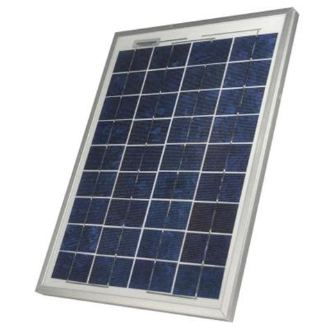sunforce 20 watt crystalline solar panel 37002 the home