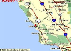morro bay california map mapquest maps of morro bay