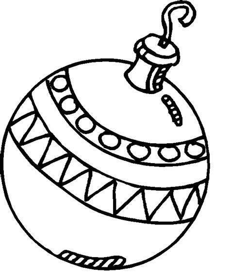 coloring page christmas balls coloring pages 6