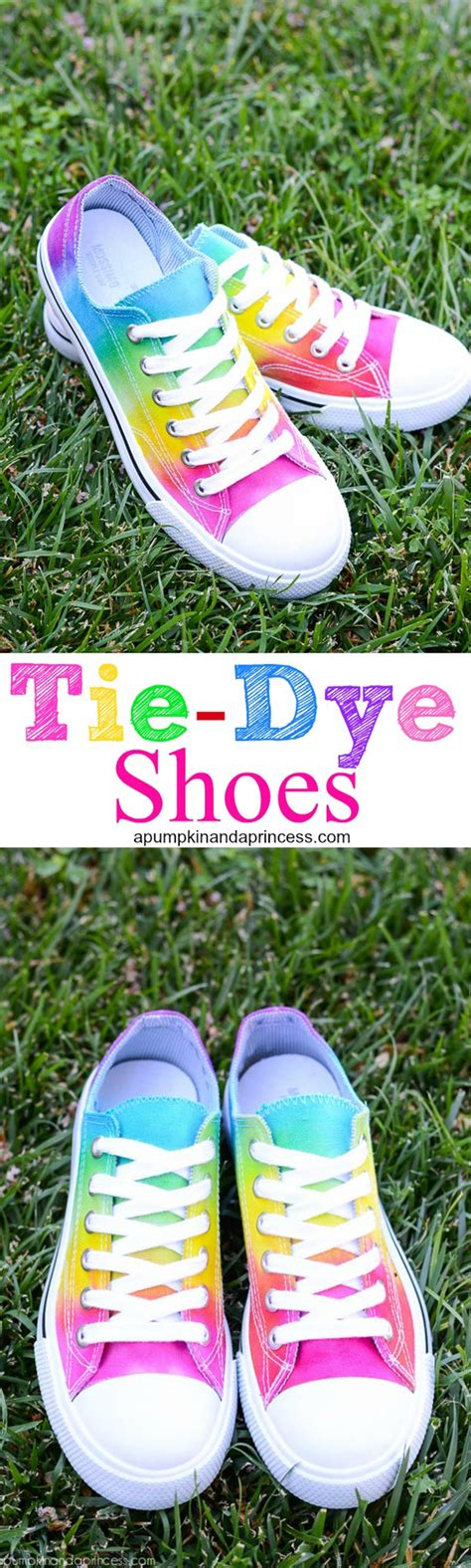 tie dye shoes diy easy diy tennis shoes for summer take 5