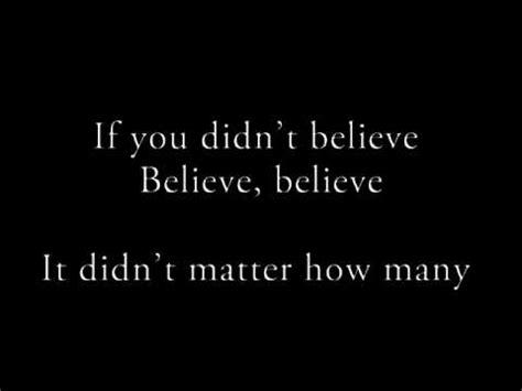 believe testo justin bieber believe with lyrics con testo