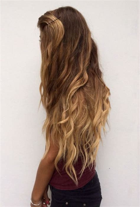 how long will it take for ombre to grow out long wavy ombre hair