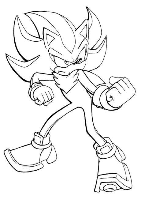 shadow the hedgehog pose by adamis on deviantart