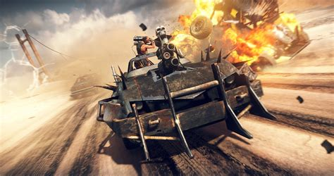 Bd Ps 4 Mad Max Original New mad max gameplay footage revealed vg247