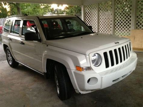 Jeep Patriot 2008 Mpg Purchase Used 2008 Jeep Patriot Low Mileage In Baton