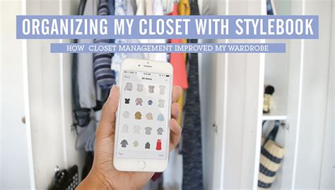 Closet App by Stylebook Closet App How Stylebook Improved Real Wardrobe