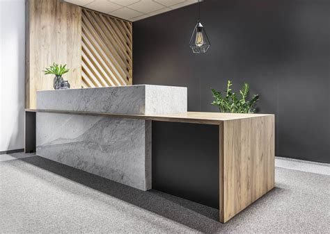 office reception desk ideas gallery of office space in poznan metaforma 13