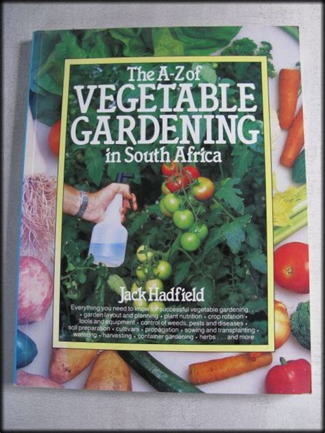 Vegetable Gardening Book Reference Vegetable Gardening Book Jack Hadfield Was