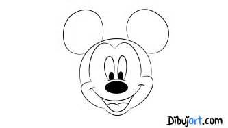 243 mo dibujar mickey mouse paso paso dibujart