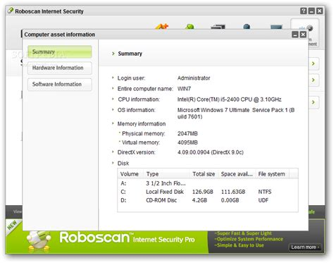 roboscan antivirus full version roboscan internet security free download 32 bit