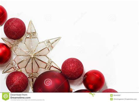 christmas decorations border stock photo image 35545022