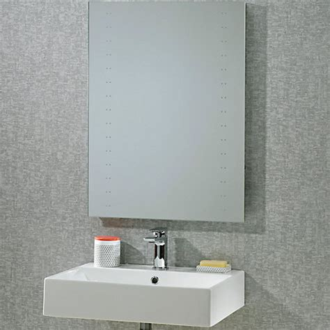 buy bathroom mirror buy roper rhodes pulse led bathroom mirror john lewis