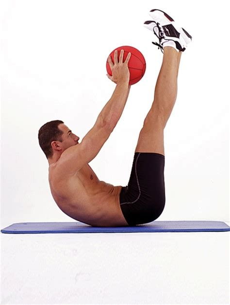 ab exercises with a medicine fitness