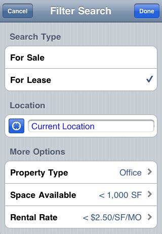 Loopnet Property Records Loopnet Commercial Real Estate Search App For Iphone