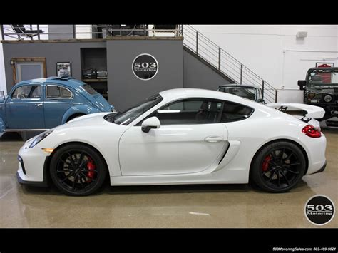 Porsche Cayman Seats 4 by 2016 Porsche Cayman Gt4 White W Seats 3k