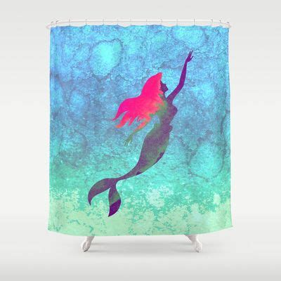 ariel shower curtain 10 best ideas about mermaid shower curtain on pinterest