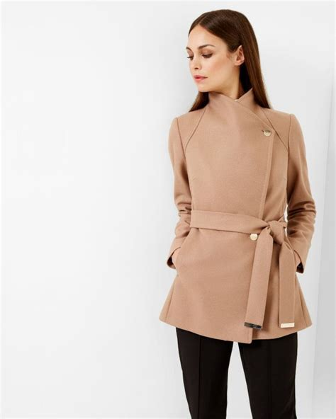 Ted Baker Coat For Winter by Wrap Coat Camel Jackets Coats Ted Baker