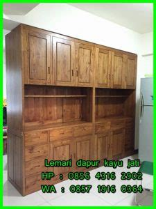 Lemari Gantung Dapur Kayu lemari dapur kayu jati lemari dapur gantung kayu jati harga lemari dapur kayu jati