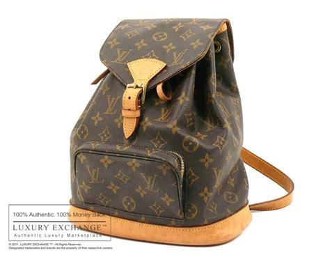 Louis Vuittonn Backpack authentic louis vuitton monogram montsouris backpack mm