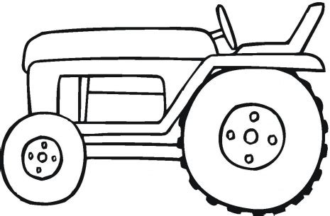 tractor template to print tractor coloring pages 6