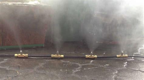 Jual Water Mist Nozzle mist nozzle demo1