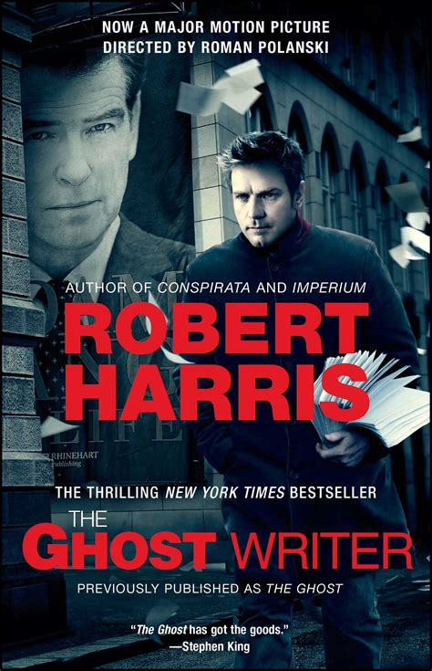 the ghost writer the ghost writer book by robert harris official