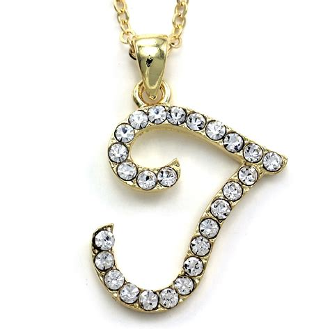 Letter Necklace Not On The High New Initial Alphabet Letter T Pendant Necklace High