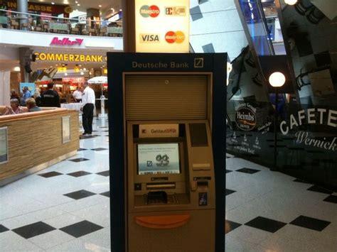 deutsche bank geldautomaten berlin geldautomat deutsche bank gropius passagen in berlin