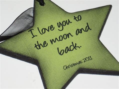hallmark prnaments love you tomoon and back first christmsd i you to the moon and back ornament for