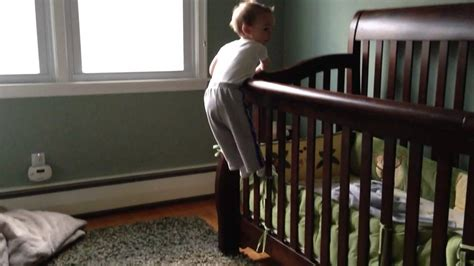 18 month baby climbs out of crib