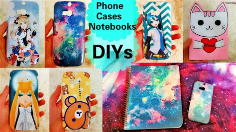 Cool DIYs: DIY Galaxy Anime Phone Cases DIY Galaxy