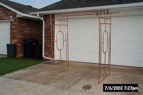 mark create a copper arbor