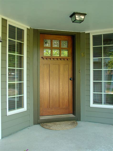Craftsman Style Front Door Arts And Crafts Doors Craftsman Style Doors Mission Style Doors Front Exterior Doors For