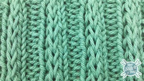 what is ribbing in knitting the fancy slip stitch rib pattern knitting stitch 84