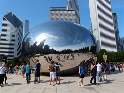 Illinois Mba Summer Tour by Free Images City Downtown Summer Travel Reflection