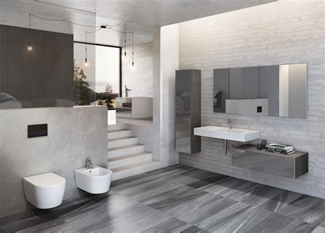 latest bathroom designs roca new bathroom solutions and innovations unveiled at